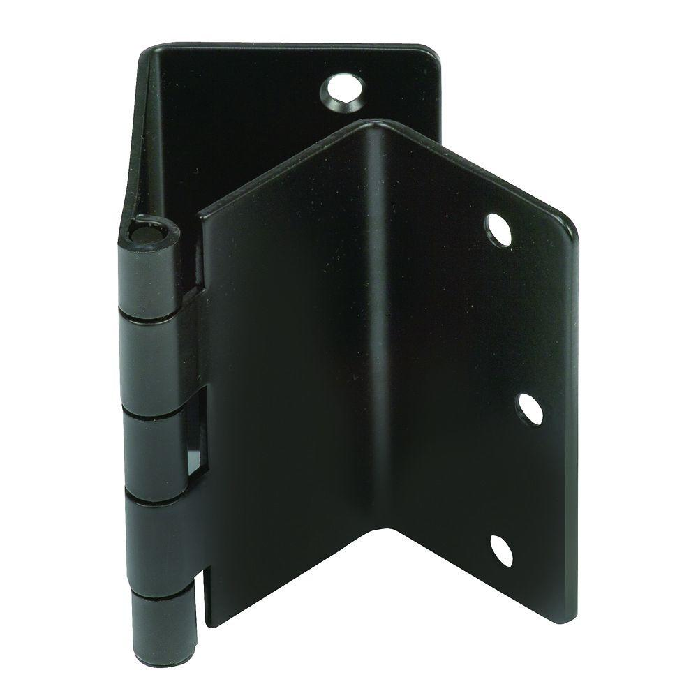 HealthSmart Black Expandable Door Hinge Pair