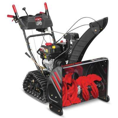 Storm Tracker 26 in. 208cc Two-Stage Electric Start Gas Snow Blower with Track Drive and Electronic 4-way Chute Control