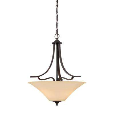 Treme 3-Light Espresso Pendant