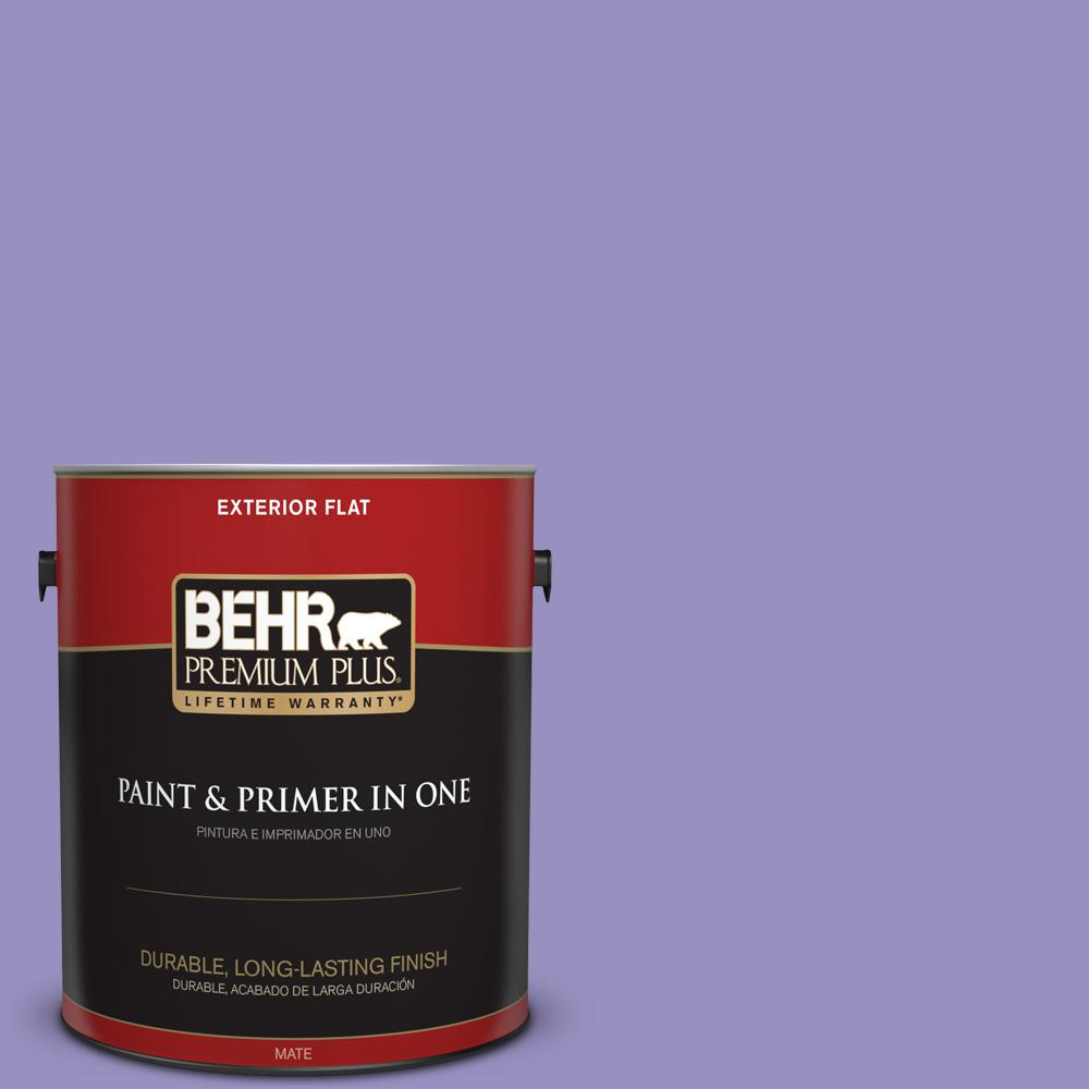 1 gal. #PPU16-05 Lily of the Nile Flat Exterior Paint