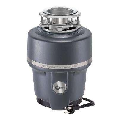 Evolution Compact 3/4 HP Continuous Feed Garbage Disposal with Power Cord