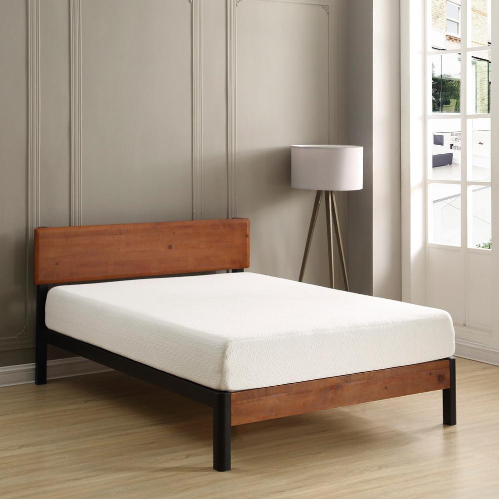 Cal king bed frame mattress