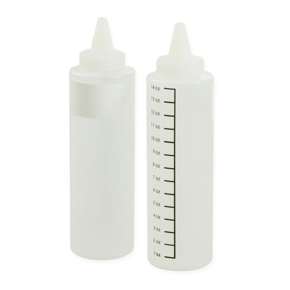 14 oz. Clear Squeeze Bottle (Set of 2)