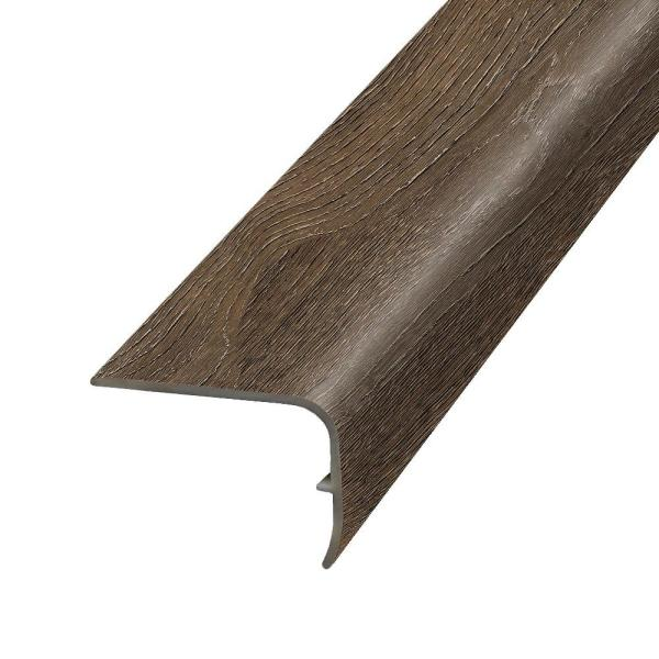 Mohawk Harrington Acacia 1 32 In Thick X 1 88 In Wide X 78 7 In Length Vinyl Stairnose Molding Mg001783 The Home Depot