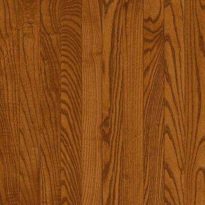 American Originals Copper Dark Oak 3/8 in. T x 3 in. W x Varying L Click Lock Engineered Hardwood Flooring (22 sq.ft.)
