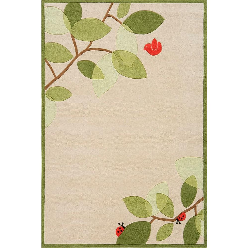 Momeni Caprice Ivory 3 ft. x 5 ft. Indoor Area Rug