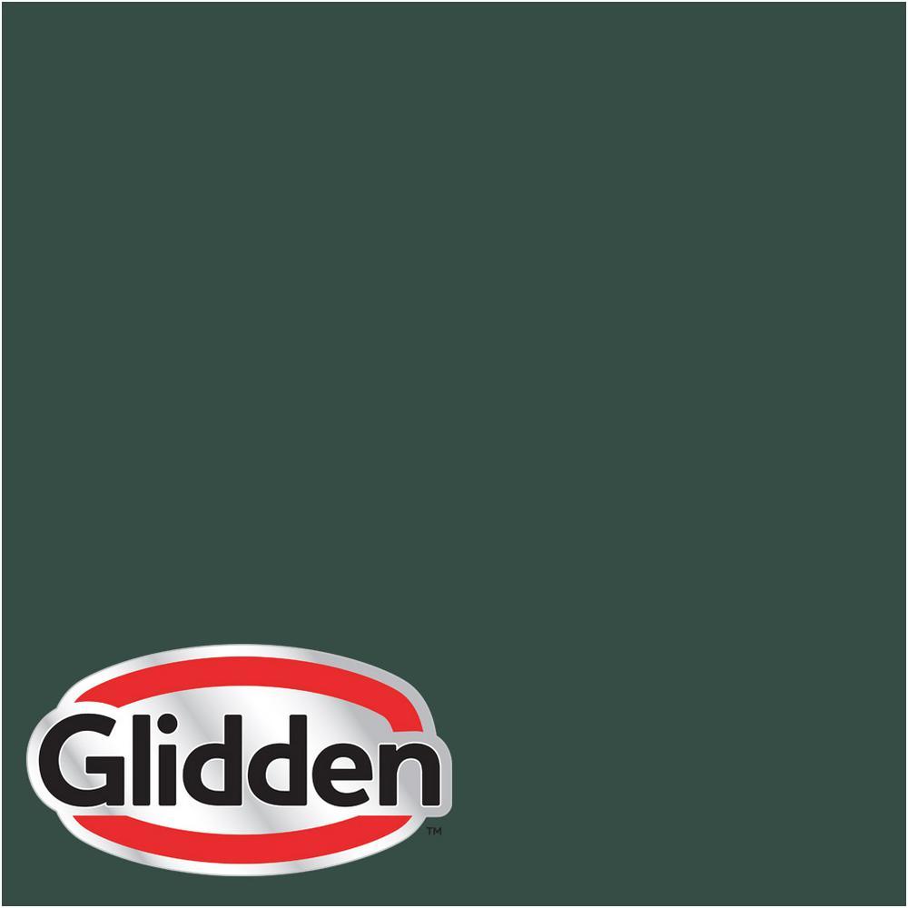 Glidden Premium 5 Gal Hdgg65d Dark Hunter Green Satin Interior Paint With Primer Hdgg65dp 05san The Home Depot