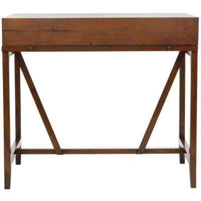 Wyatt Dark Teak Desk