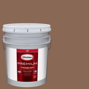 #HDGO39D Toast Brown Flat Interior Paint With Primer