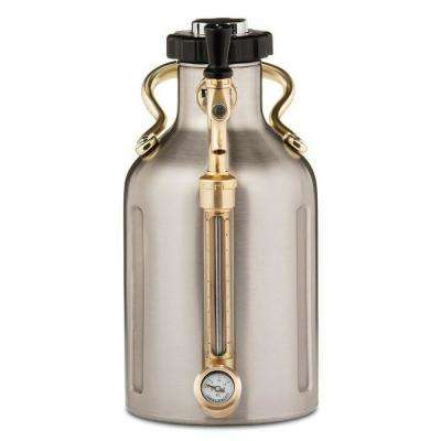uKeg 64 oz. Stainless Steel Pressurized Growler