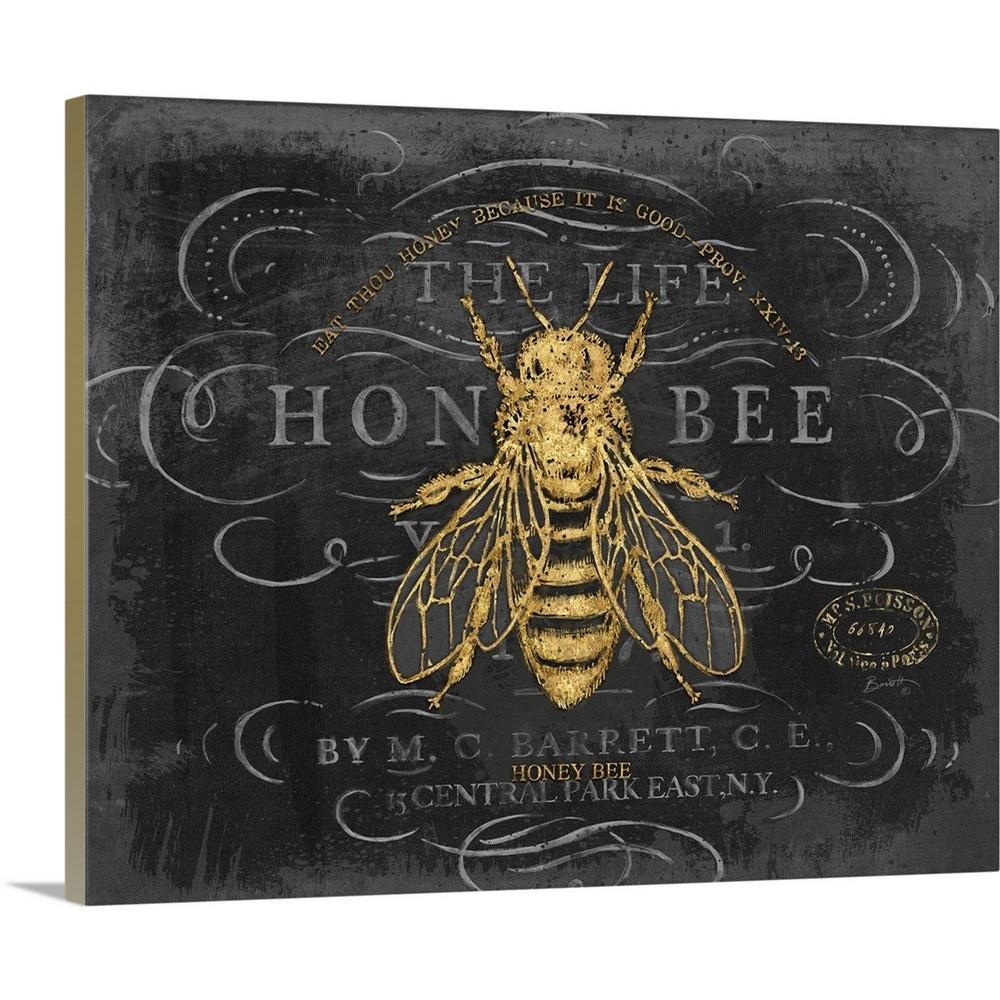 """Honey Bee"" by Chad Barrett Canvas Wall Art"