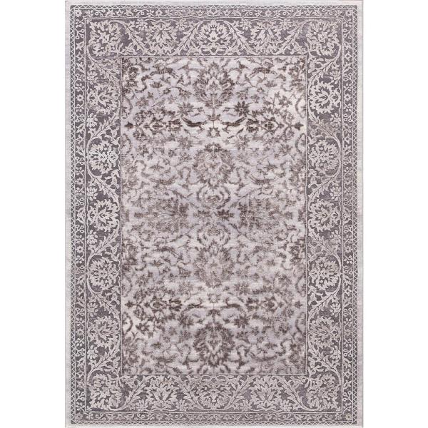 Thema Vintage Brown 7 ft. x 9 ft. Area Rug