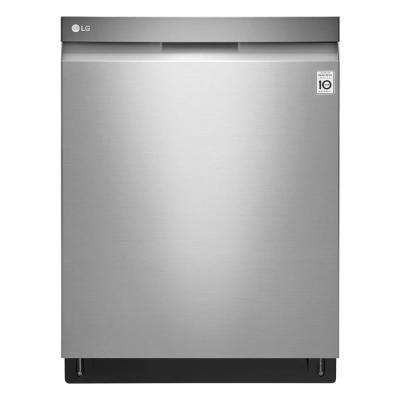24 in. Top Control Built-In Tall Tub Smart Dishwasher in Stainless Steel with 3rd Rack and Stainless Steel Tub, 44 dBA