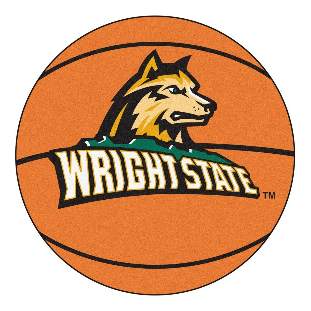 FANMATS NCAA Wright State University Orange 2 Ft 3 In X