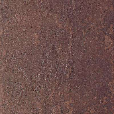Continental Slate Indian Red 12 in. x 12 in. Porcelain Floor and Wall Tile (15 sq. ft. / case)