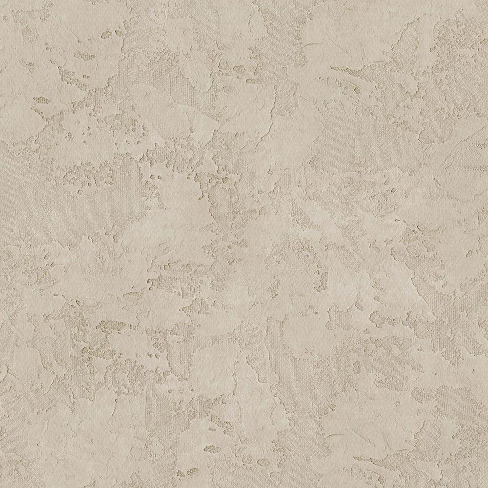 Beige Stucco Texture Wallpaper Sample