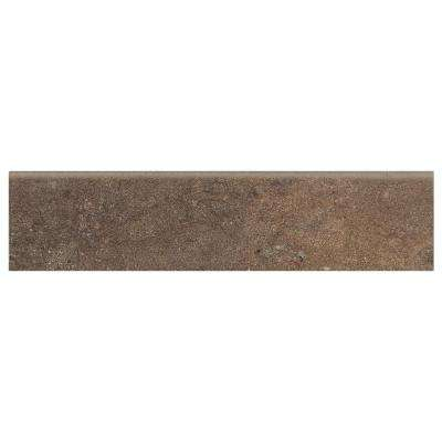 Longbrooke Parkstone 3 in. x 12 in. Ceramic Floor and Wall Bullnose Tile