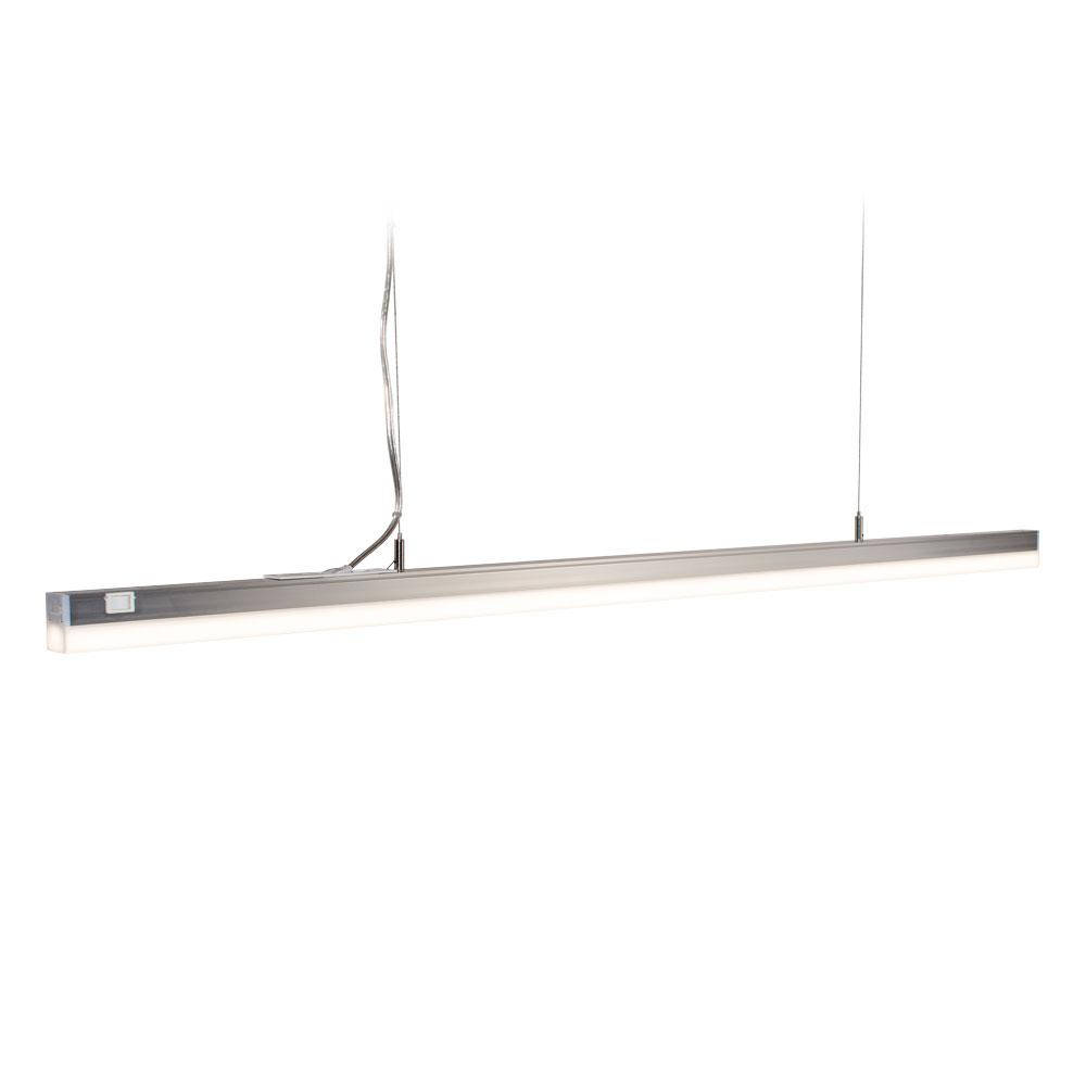 Anodized Aluminum Bright White SlimLight LED Linear Lighting System