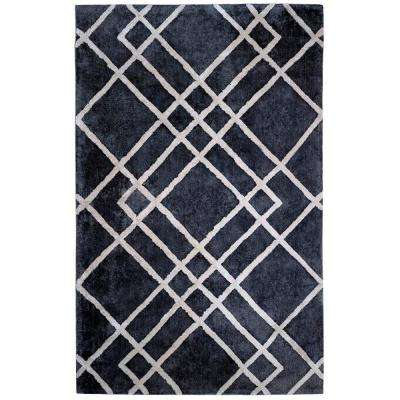 Diamond Dogs Gray and Ivory 8 ft. x 10 ft. Area Rug