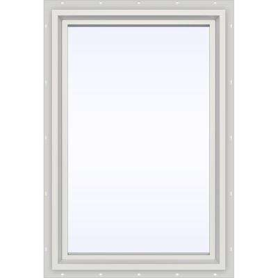 23.5 in. x 29.5 in. V-4500 Series Fixed Picture Vinyl Window in White