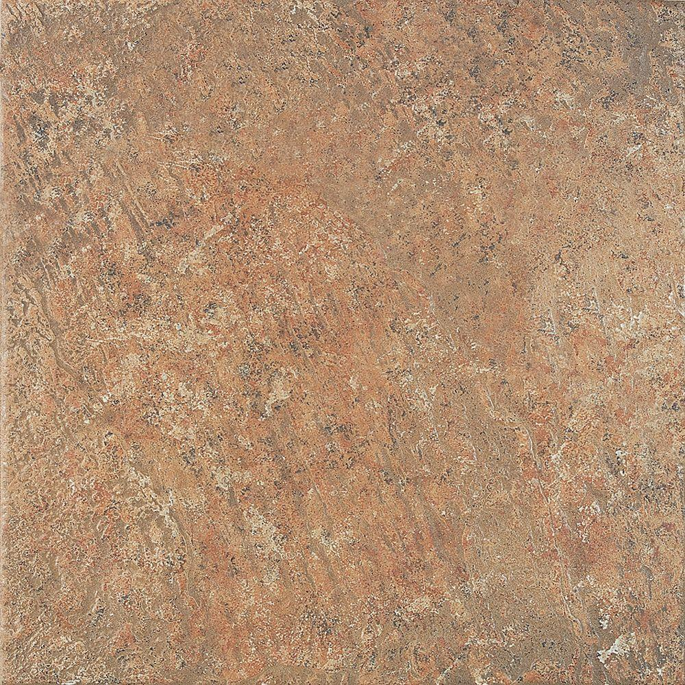 U.S. Ceramic Tile Craterlake 18 in. x 18 in. Fuego Porcelain Floor and Wall Tile-DISCONTINUED