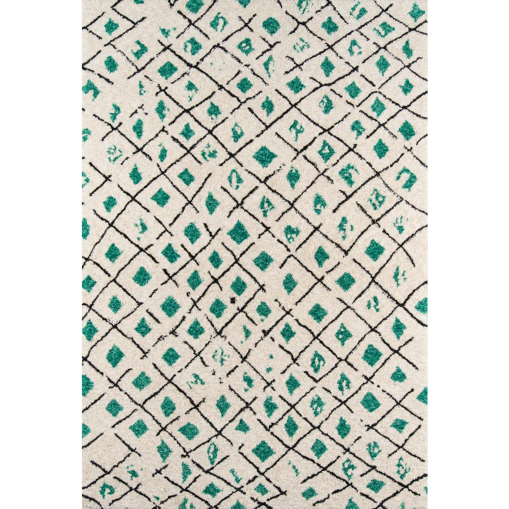 Bungalow Green 8 ft. x 10 ft. Indoor Area Rug