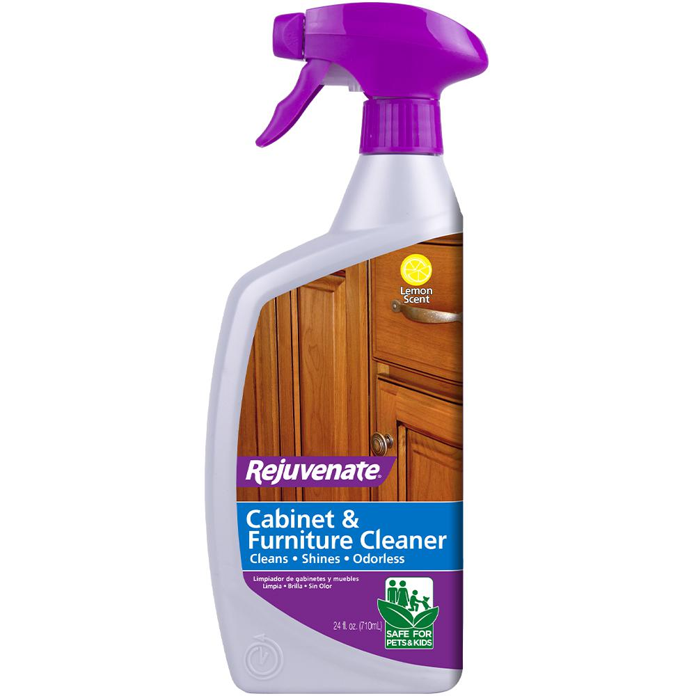 Rejuvenate 24 Oz Cabinet And Furniture Cleaner Rj24cc The Home