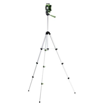Self-Leveling 360° Cross-Line Laser Level with Tripod, Pendulum Lock, Laser Pouch and Batteries