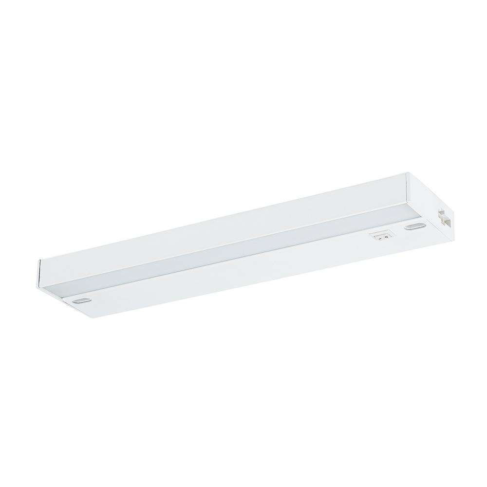 12 in. Antibacterial LED White Under Cabinet Light