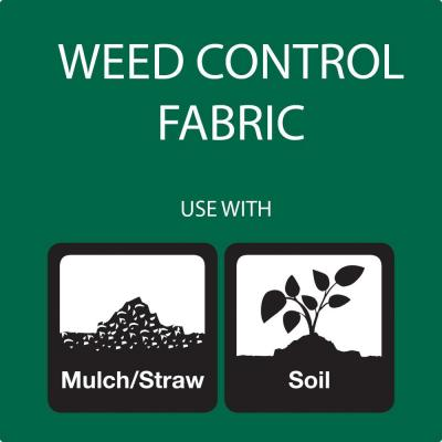 3 ft. x 50 ft. WeedBlock Weed Barrier Landscape Fabric with Microfunnels