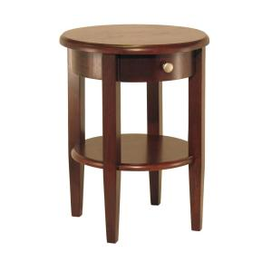 Winsome Wood Concord Walnut End Table by Winsome Wood