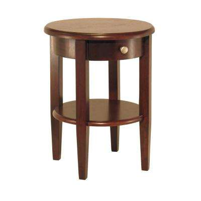 Concord Walnut End Table