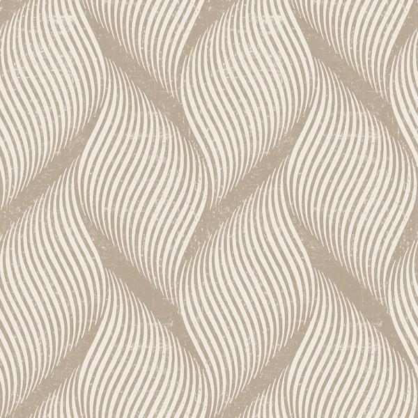 Tempaper Wave Almond Self Adhesive Removable Wallpaper