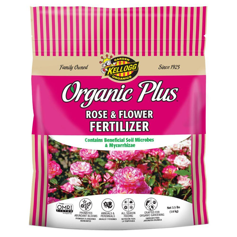 Kellogg Garden Organics 3.5 lb. Organic Rose and Flower Fertilizer