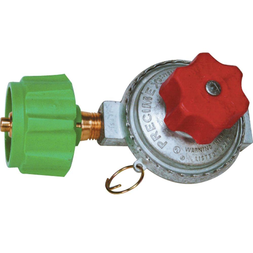 King Kooker High Pressure Adjustable Regulator with Type 1 Connection