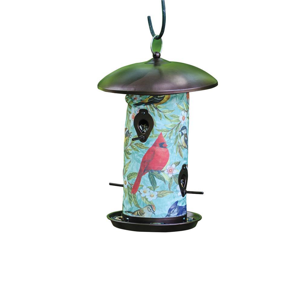 14.50 In Tall Backyard Songbird Bird Feeder
