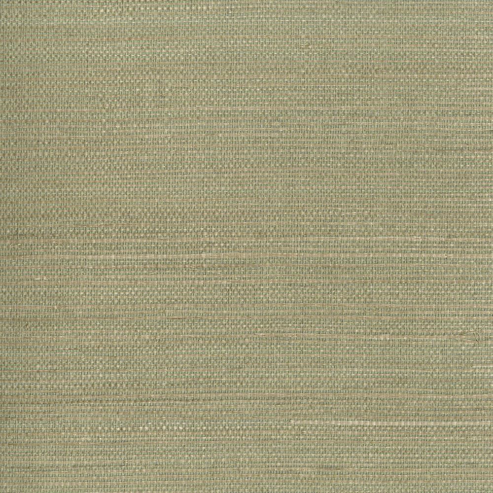 Kenneth James Kenjitsu Mint Grasscloth Wallpaper Sample 2693-30228SAM