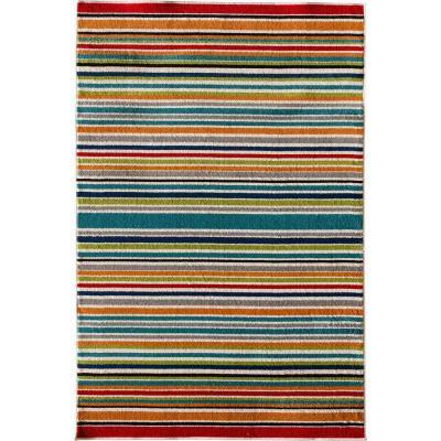 Patio Brights Santee Multi 7 ft. x 10 ft. Indoor/Outdoor Area Rug