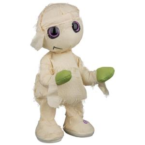Deals on Home Accents Holiday 13.39 in. Animated Plush Thriller Mummy