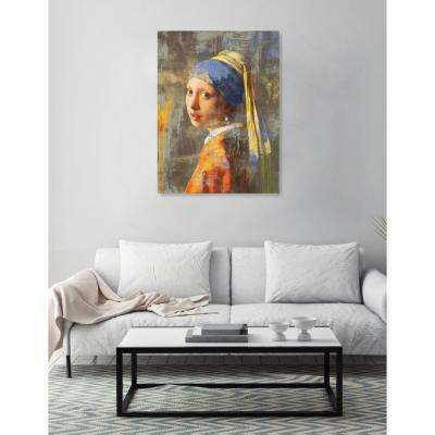 """32 in. x 24 in. """"SAI - Beauty Beyond The Paint"""" by Oliver Gal Printed Framed Canvas Wall Art"""
