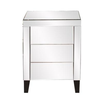 Osaka 3-Drawer Mirrored Dresser