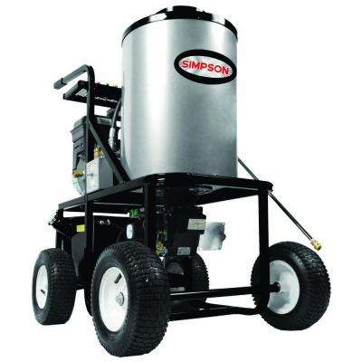 King Brute 3028 3,000 PSI 2.8 GPM Briggs and Stratton 249cc Engine Gas Powered Hot Water Pressure Washer