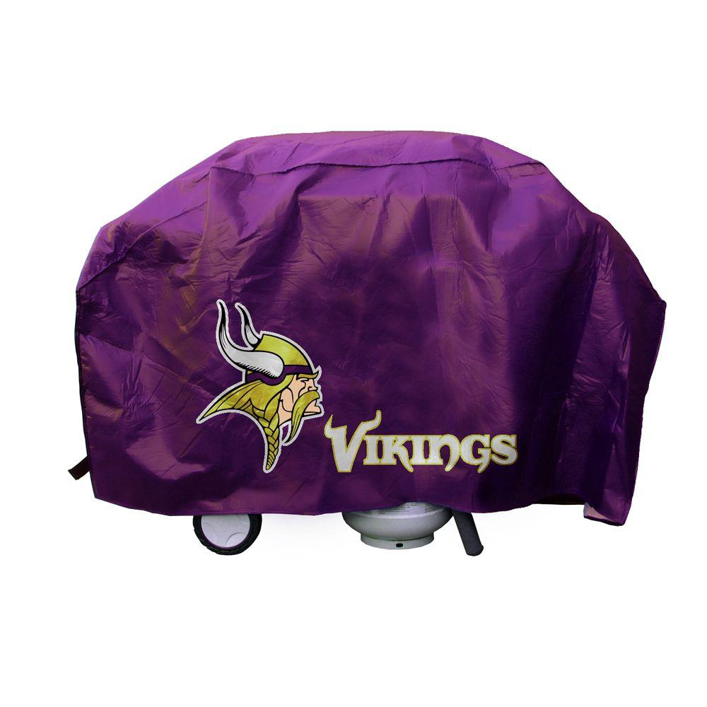 Rico Industries 68 in. NFL Minnesota Vikings Deluxe Grill Cover-DISCONTINUED