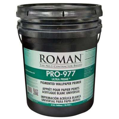 PRO-977 Ultra Prime 5 gal. Wallcovering Primer/Sealer