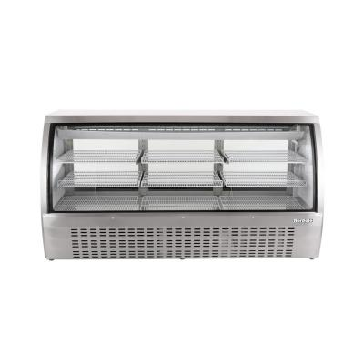 82 in. W 32 cu. ft. Commercial Refrigerated Deli Case