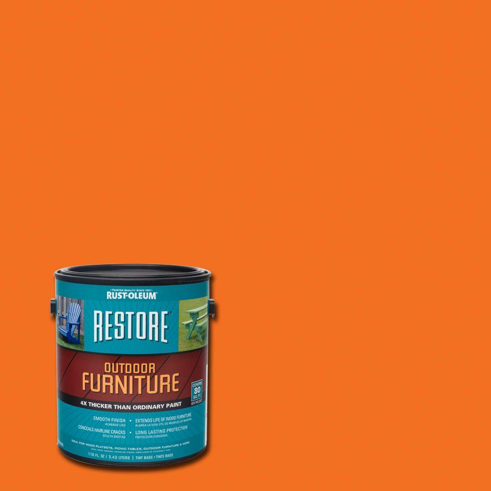 Rust-Oleum Restore 1 gal. Real Orange Outdoor Furniture Coating