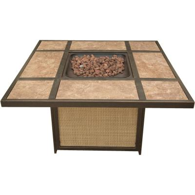 45 in. Artisan Tile-Top LP Gas Fire Pit