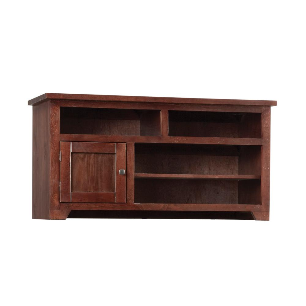 Sonoma 50 in. Espresso Pine Wood TV Stand Fits TVs Up to 55 in. with Storage Doors