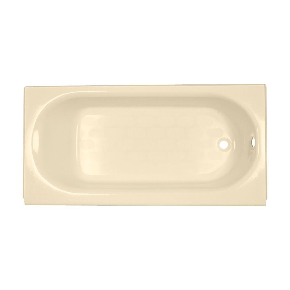 American Standard Princeton 5 Ft. Right Drain Americast Soaking Tub In Bone