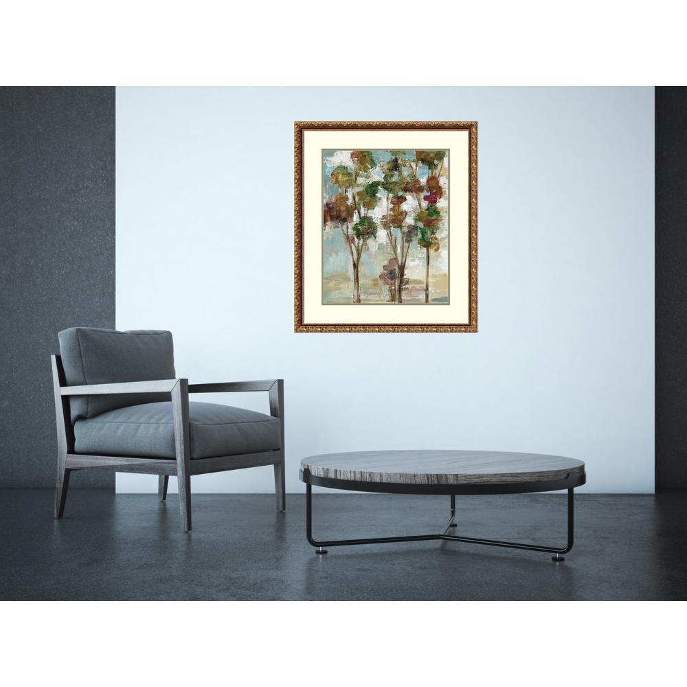 "26 in. W x 30 in. H ""Serene Forest II"" by Silvia Vassileva Framed Art Print"